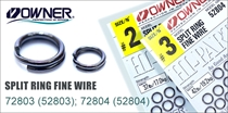 72803/72804 Split Ring Fine Wire