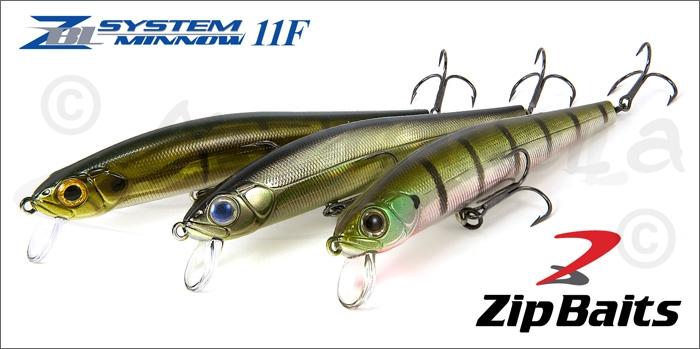Изображение ZipBaits ZBL System minnow 11F