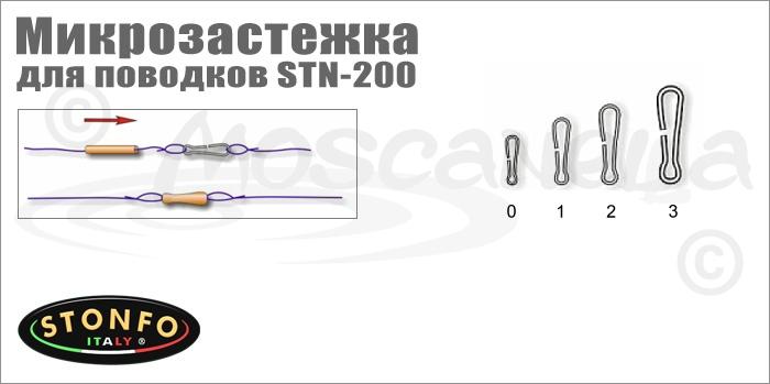 Изображение Stonfo STN-200 Микрозастежка для поводков