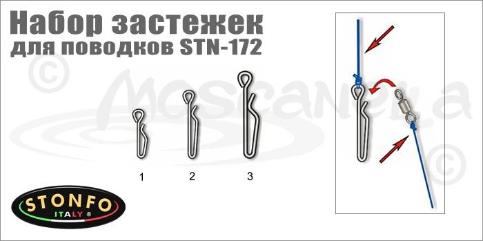 Изображение Stonfo STN-172 Набор застежек для поводков