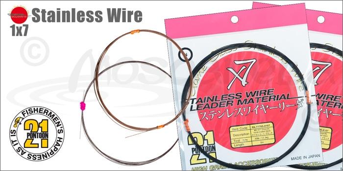 Изображение Pontoon21 Stainless Wire 1x7