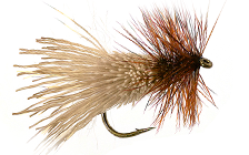 HAIR WING & DEER BODY DRY FLIES