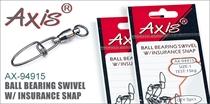 AX-94915 Ball Bearing Swivel w/ Insurance Snap