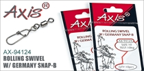 AX-94124 Rolling Swivel w/ Germany Snap-B