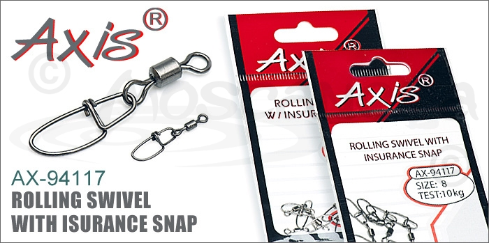 Изображение Axis AX-94117 Rolling Swivel With Insurance Snap