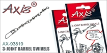 AX-93819 3-joint Barrel Swivels