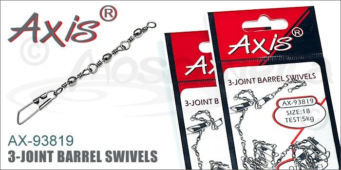 Изображение Axis AX-93819 3-joint Barrel Swivels