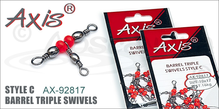 Изображение Axis AX-92817 Barrel triple Swivels Style C