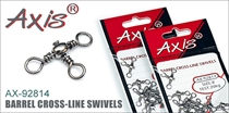 AX-92814 Barrel Cross-line swivels
