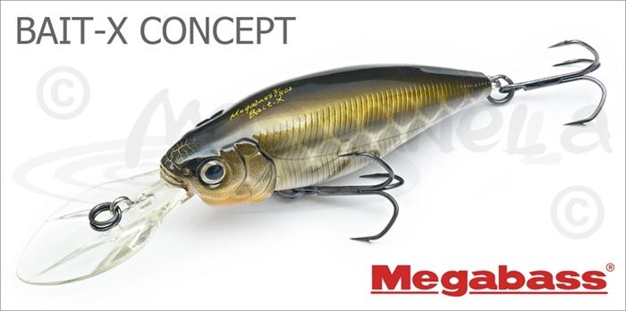 Изображение Megabass BAIT-X CONCEPT