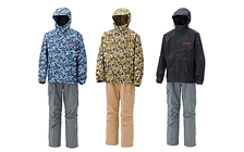Megabass Degicamo Rain Suits