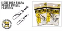 PA-SS77728 Eight Lock Snap&Power Swivel