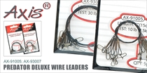 AX-91005; AX-92005; AX-93007 Поводок Predator Deluxe Wire leaders