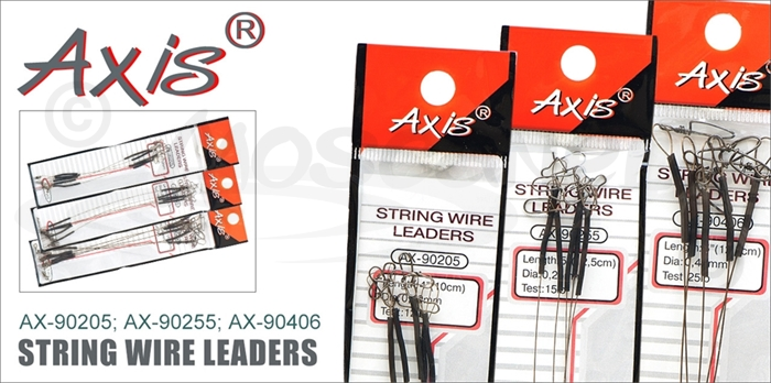 Изображение Axis AX-90205; AX-90255; AX-90406 Поводок-струна String Wire leaders